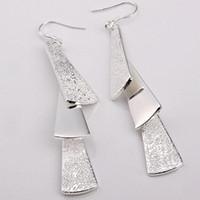 Wholesale Dangle Chandelier Sterling Silver - Wholesale - lowest price Christmas gift 925 Sterling Silver Fashion Earrings E15