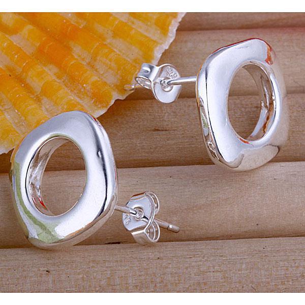 Commercio all'ingrosso - regalo di Natale di prezzo più basso 925 orecchini in argento sterling moda E016