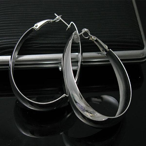Groothandel - laagste prijs kerstcadeau 925 sterling zilveren mode oorbellen YE018