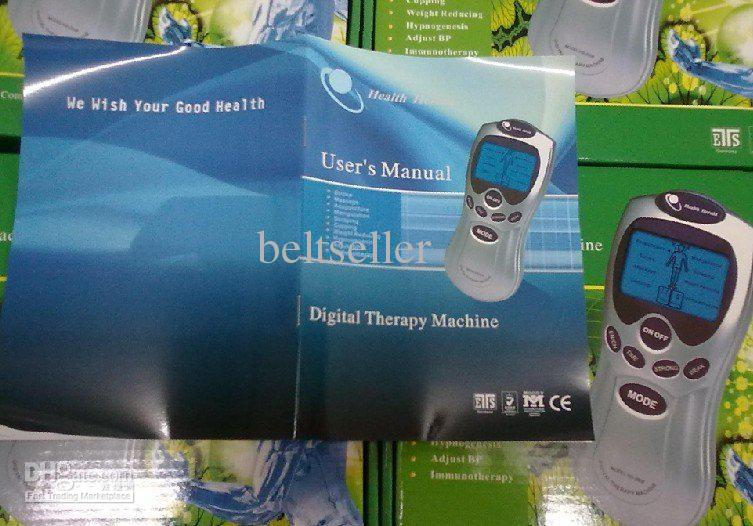 Health herald digital therapy machine Tens Acupuncture Digital Therapy Machine Massager