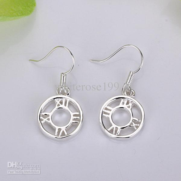 Hurtownie - Najniższa cena Christmas Gift 925 Sterling Silver Moda Kolczyki YE041