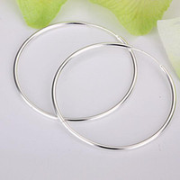 Wholesale Earrings Heart Hoops - Wholesale - lowest price Christmas gift 925 Sterling Silver Fashion Earrings E33