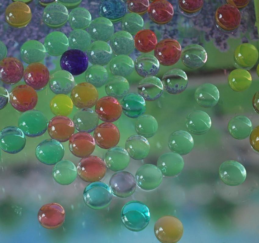 3g / Beutel Kristallschlamm-Boden-Wasser-Korn-Blumen-Pflanzen Weihnachtsgeschenk
