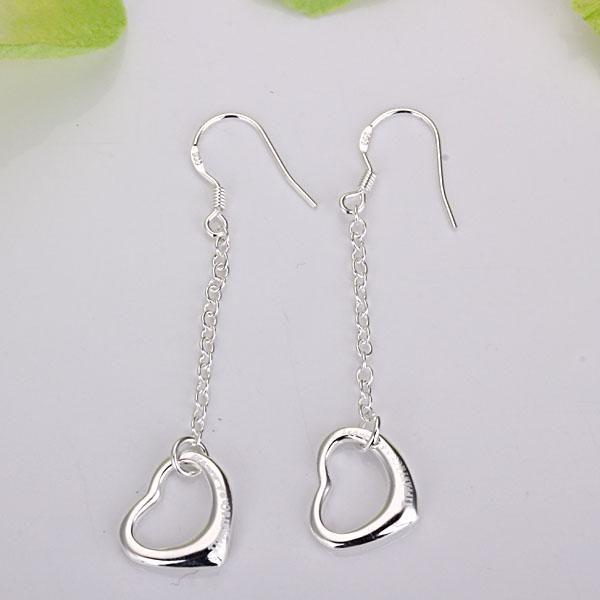 Hurtownie - najniższa cena Boże Narodzenie prezent 925 Sterling Silver Fashion Earringsy E086