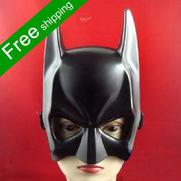 Plastic Batman Mask Masquerade Party Masks Halloween Party ...