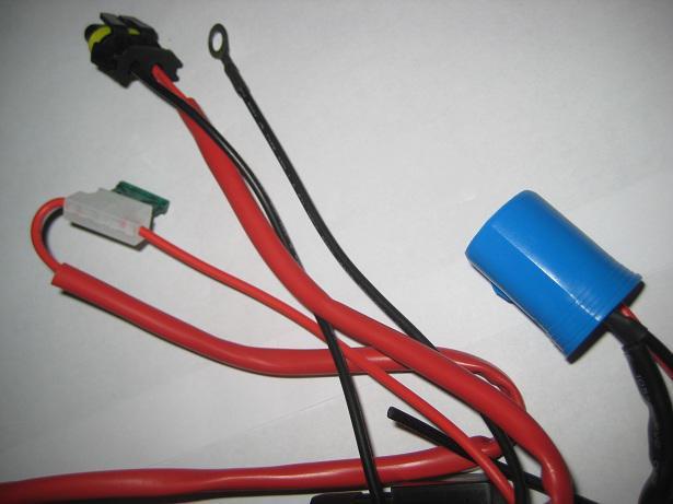 10 stks 9006 HB4 HID XENON Conversie Kits Voertuig Relaiszekering Draad Bedrading Harnas 40A No Flikker 14V DC