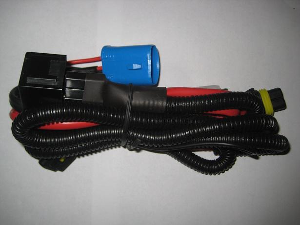 10 stks H4 HID XENON Conversie Kits Licht Voertuig Relaiszekering Draad Bedrading Harnas 40A No Flicker 14VDC