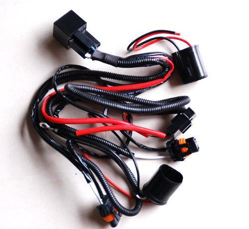 10 SZTUK H4 HID Xenon Zestawy konwersji Lekki Przekaźnik Przekaźnik Fuse Wire Wiązanie przewodów 40A Bez migotania 14VDC