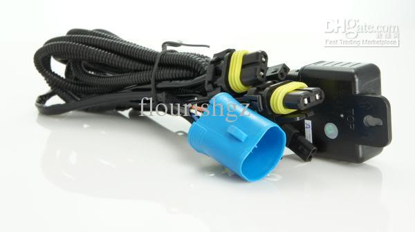 H4 HID XENON CONVERSION KITS LIGHT VEHICLE RELAY FUSE WIRE WIRING HARNESS 40A NO FLICKER 14VDC