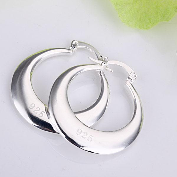 top popular Wholesale - lowest price Christmas gift 925 Sterling Silver Fashion Earrings E81 2019