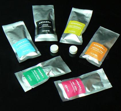 best selling 2pcs bag Creative Candy Color Air Freshener Perfume Diffuser for Auto Car perfume granule