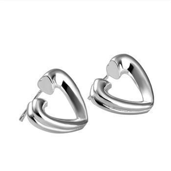 Vente en gros - Prix le plus bas cadeau de Noël Boucles d'oreilles en argent sterling 925 Fashion yE065