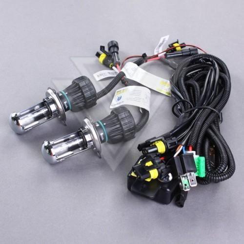 5 쌍 55W H4 H4-3 9003 HB2 H4 높음 / 낮음 H / L 바이자 크세논 HID 제논 교체 전구 램프 표시 등 12V
