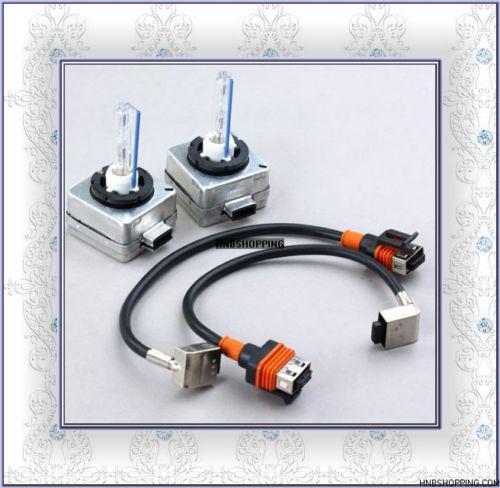 5 쌍 PAIR D1 D1S D1R D1C HID 제논 교체 전구 W / 홀더 커넥터 4.3K 6K 8K 10K 12K