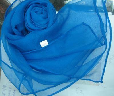 Couleur unie 100% soie foulard châle Wrap foulards foulard beaucoup de couleur / # 1439