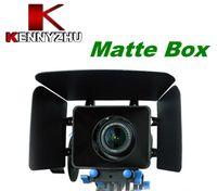 système de support des tiges de 15 mm achat en gros de-Boîte matte de kit de film de DSLR pour les caméscopes de système de soutien de tige de rail de 15mm 7D 5D MARK II 60D 600D D90