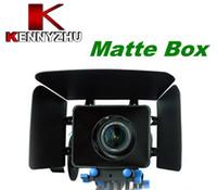 câmera 5d marca ii venda por atacado-Kit de Filme DSLR Matte Box Para 15mm Rail Rod Sistema de Suporte Câmeras de Vídeo 7D 5D MARCA II 60D 600D D90
