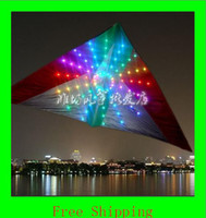 Wholesale Kite Led - 3 sqm LED kite with 192pcs of LED kite lights,attractive in the night