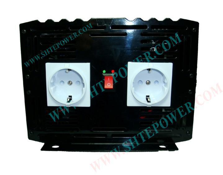 Invertitore di potenza puro dell'onda sinusoidale di 4000w di trasporto libero, CC 12v a CA 220v, invertitore di potere