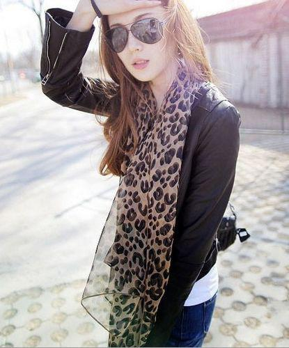 Самые популярные стильные шелковые шарфы Леопард шарф женские стильные рождественские подарки новое прибытие горячие 20 шт. / лот