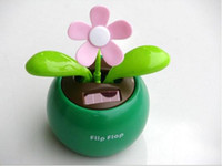Wholesale Solar Swing Toys - Solar Retail Powered Swing Solar Flower,Magic Cute Flip Flap , Plant Swing Solar Toy