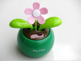 Wholesale Solar Flip - Solar Retail Powered Swing Solar Flower,Magic Cute Flip Flap , Plant Swing Solar Toy