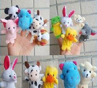 Wholesale Stuffed Animals For Ems - Animal Finger Puppets Professional baby&kids Supplier For Escrow Payment 500pcs lot Free shipping EMS