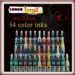 Canada Ensemble complet de 54 kits de pigments d'encre pour tatouage de qualité supérieure cheap quality ink set tattoo Offre