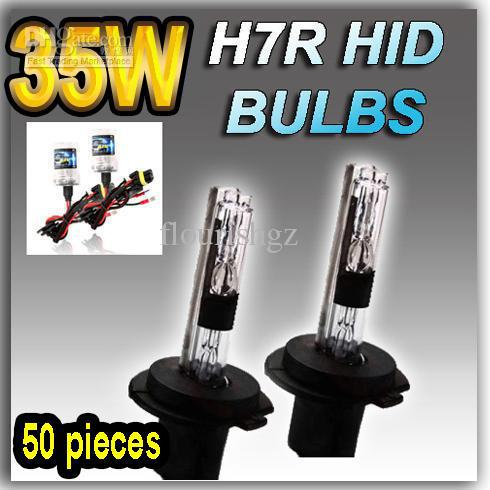 20 pary H7 H7R 12 V / 35W HID Xenon Wymiana Lampy Żarówki Światła 4300K 6000K 8000K 10000K 12000K