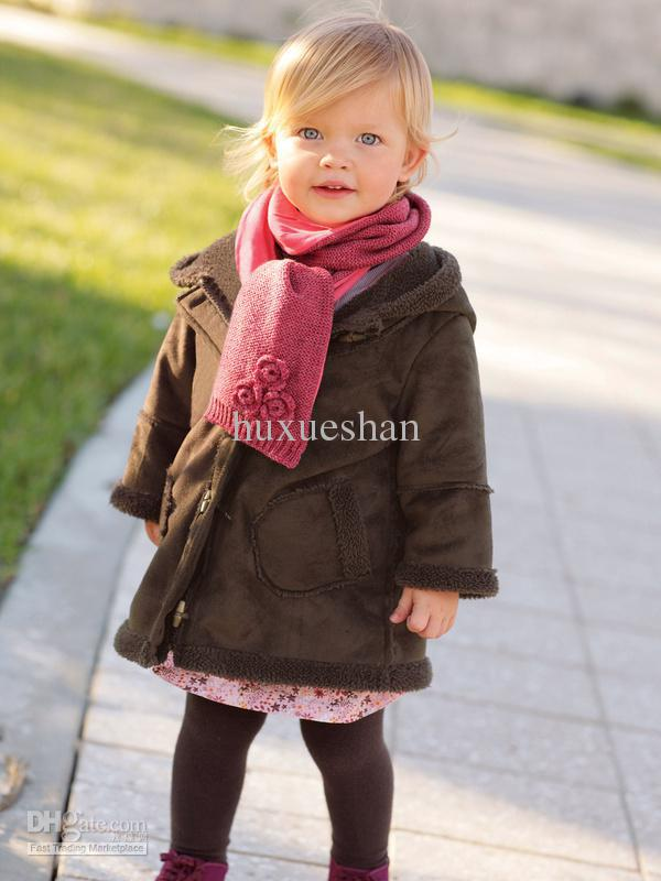 Kids Winter Coat Christmas Baby Girls Winter Coats Even Cap Coat ...