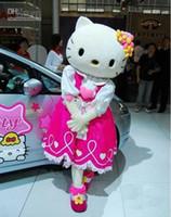 Wholesale Mascot Kitty - holle kitty Plush Cartoon Character Costume Mascot Costume, Advertising Costume,Cartoon Costume