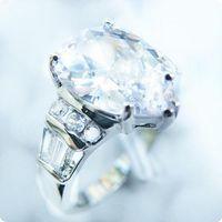 doğal beyaz safir değerli taşlar toptan satış-Ücretsiz Kargo MÜKEMMEL BEKLENMESI DOĞAL 4.0CT BEYAZ SAPPHIRE 14KT ALTıN GEMSTONE YÜZÜK-SWW5