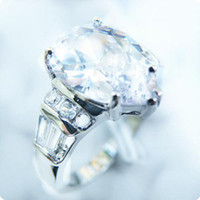 Free Shipping PERFECT EXQUISITE NATURAL 4. 0CT WHITE SAPPHIRE...