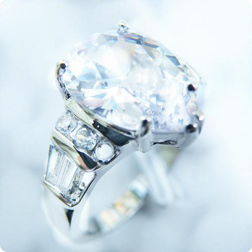 Free Shipping PERFECT EXQUISITE NATURAL 4.0CT WHITE SAPPHIRE 14KT GOLD GEMSTONE RING -SW005