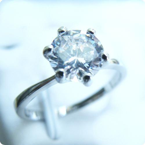 Бесплатная доставка идеальный изысканный натуральный 2.5CT белый сапфир 14-каратного золота кольцо с драгоценными камнями -SW015