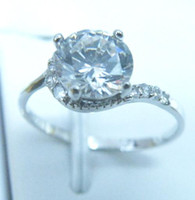 Free Shipping PERFECT EXQUISITE NATURAL 2. 0CT WHITE SAPPHIRE...
