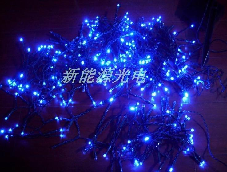 Offre spéciale Pure White Blue Wedding Décoration Fairy Lights 100 Lights Real Led 10 m Rouge Chaîne Fairy Christmas Wedding W01