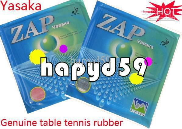 free ship new Genuine 2.2mm table tennis rubber Yasaka ZAP table tennis racquet rubber red