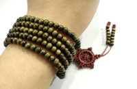 Wholesale 216 Bead Mala - Palo Santo Tibetan Buddhist 5mm x 216 Prayer Beads Bracelet Wrist Mala