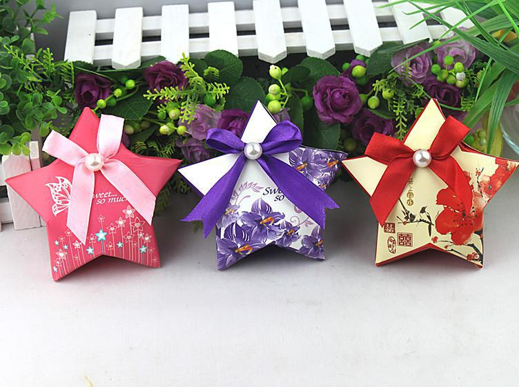 Diy Wedding Gift Box: Candy Boxes Diy Candy Box Five Star Diy Wedding Favor