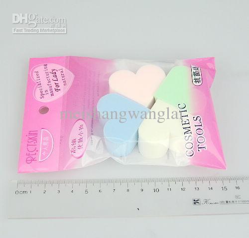 24 / Nr Soft Make Up Songe Face Powder Puff Facial Face Sponge Make-up Cosmentix Poeder Bladerdeeg HS4