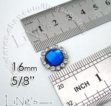 Wholesale -2011 HOT SELL!-50PCS 15mm Pearl Ivory Circle Diamante Cluster Craft DIY wedding Decor