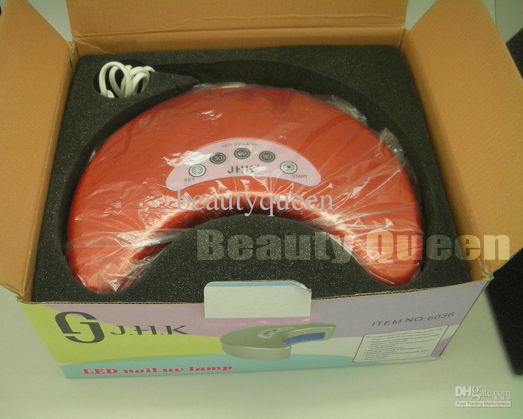 2011 New Arrival Brand 12W Nail Art LED UV Gel Curing Lamp for LED UV gel polish Professional Salon
