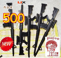 Wholesale Novelty Gun Pens - 2013 New Arrival Novelty M16 Gun Pen   Ball Point Pen Best Gift For Kids Wholesale 500pcs Lot