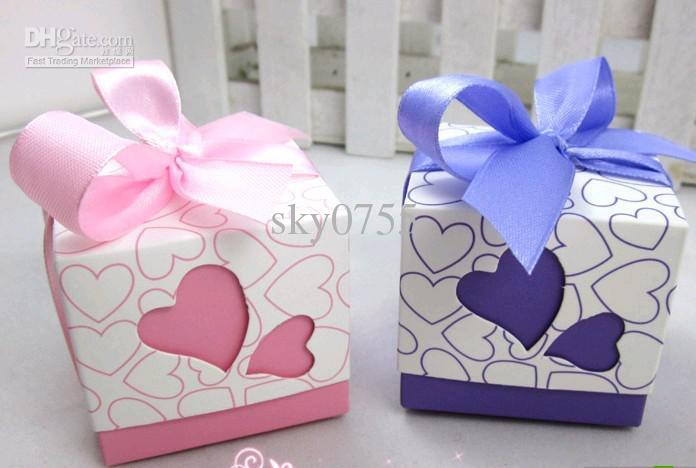 Diy Wedding Gift Box: Wedding Favor Diy Wedding Gift Box Candy Box Sweet Box