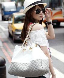 Wholesale Womens Large Fashion Handbags - HOT! Free shipping! New womens designer Single shoulder bag link chain fashion High Capacity cross body ladies handbag female messenger bags