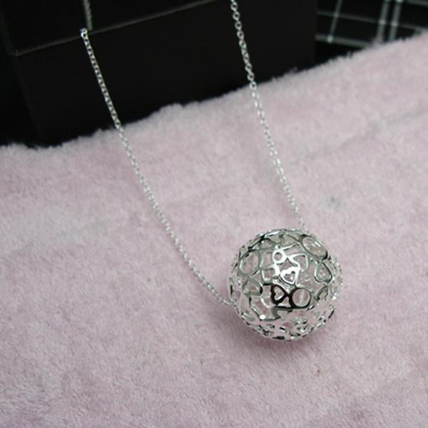 Groothandel - retail laagste prijs kerstcadeau 925 zilveren mode-sieraden gratis verzending ketting N18