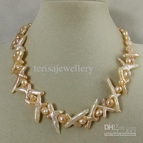Specjalna konstrukcja Naturalny Shaper Mieszanki Świeżej Pearl Pearl Naszyjnik Magnes Zapięcie Damska Biżuteria A1827