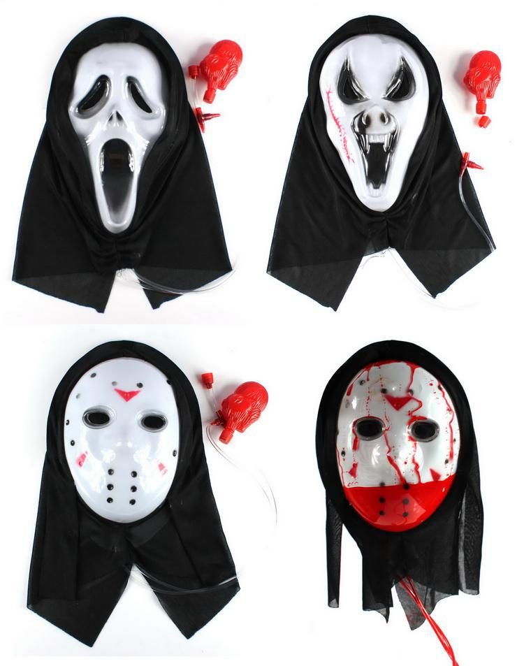 see larger image - Bloody Halloween Masks