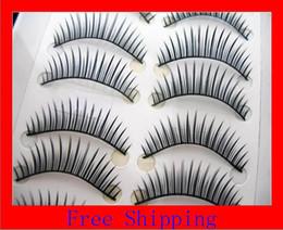Wholesale Good Quality False Eyelashes - 100% Good quality 100 boxes 1000 Paris Mixed Style Black fake eyelashes, false eyelashes